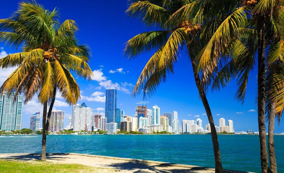 Säljtävking i Miami